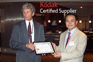 Eastman Kodak Certified Supplier