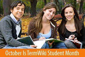 TermWiki Student Month