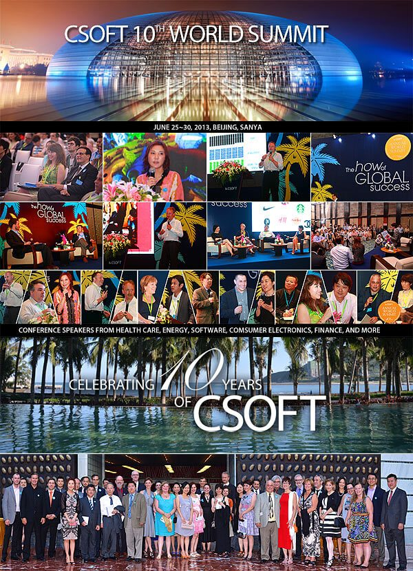 CSOFT 10th WORLD SUMMIT