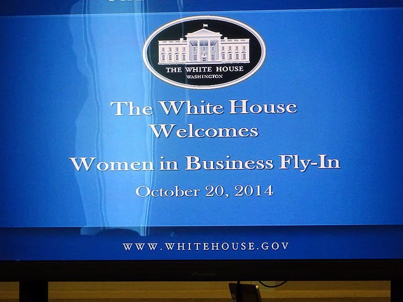 Women in Business Fly-In welcoming