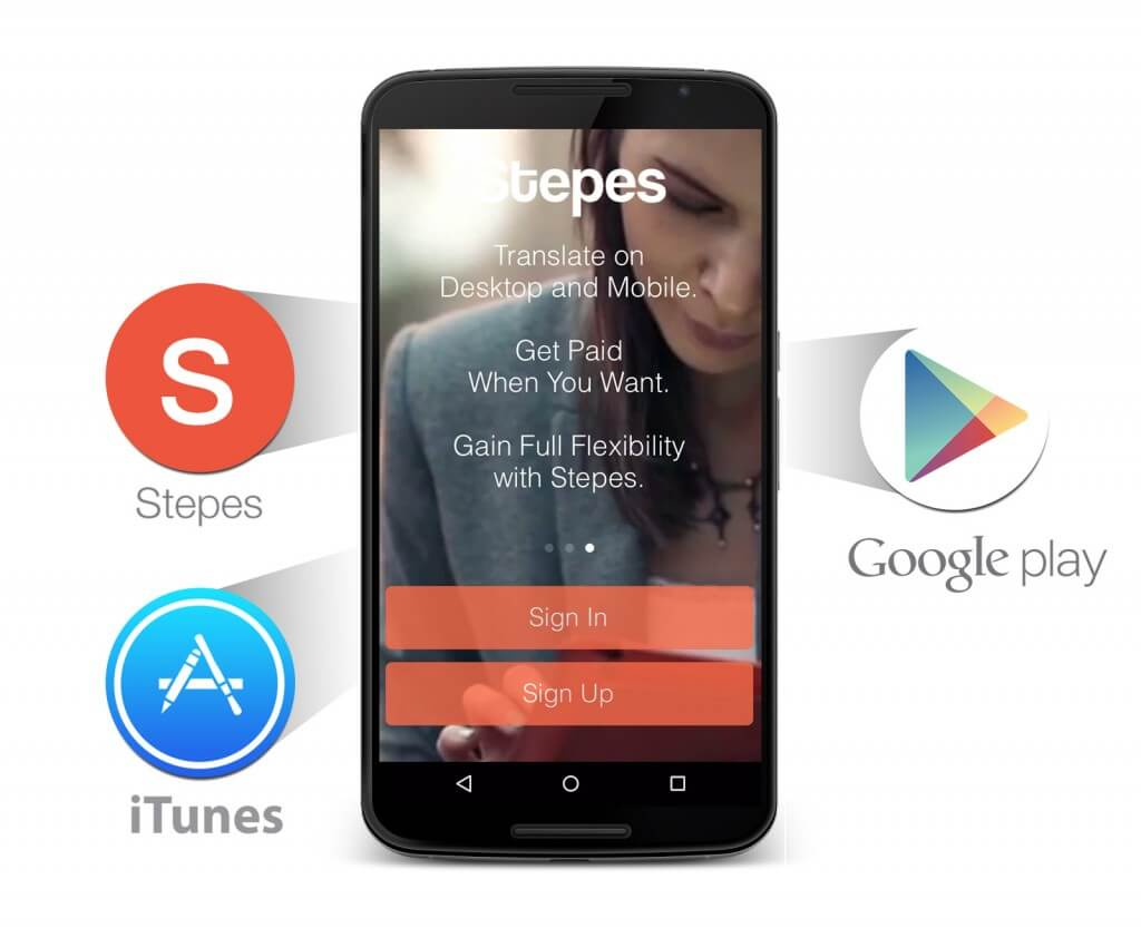 Stepes Mobile App