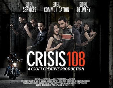 crisis 108 poster
