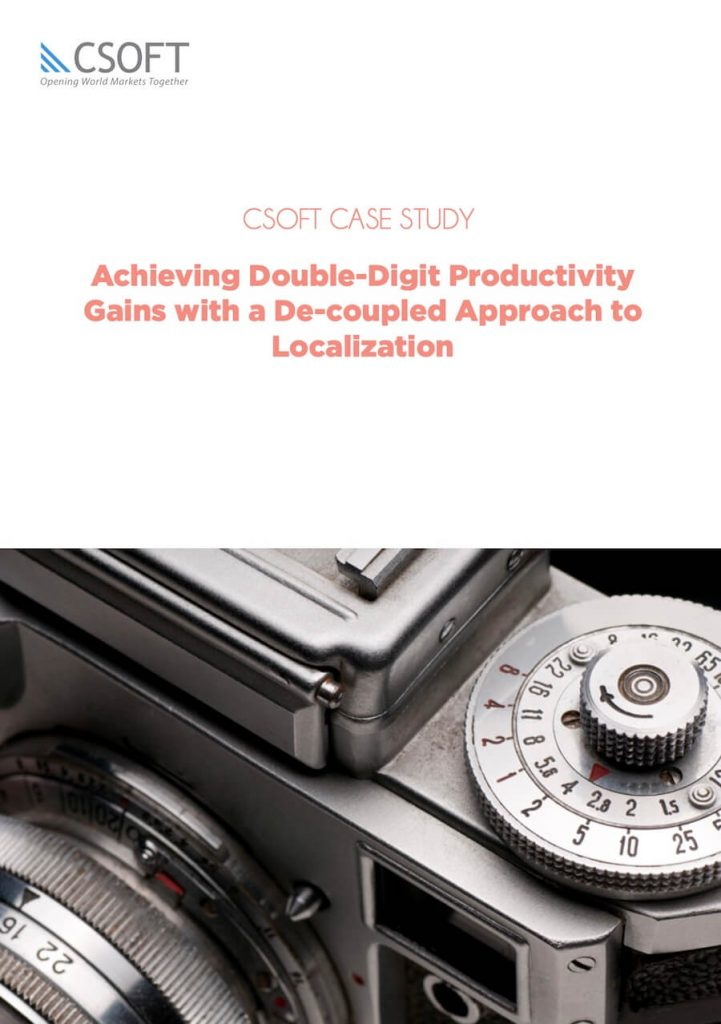 productivity gains with localization case study